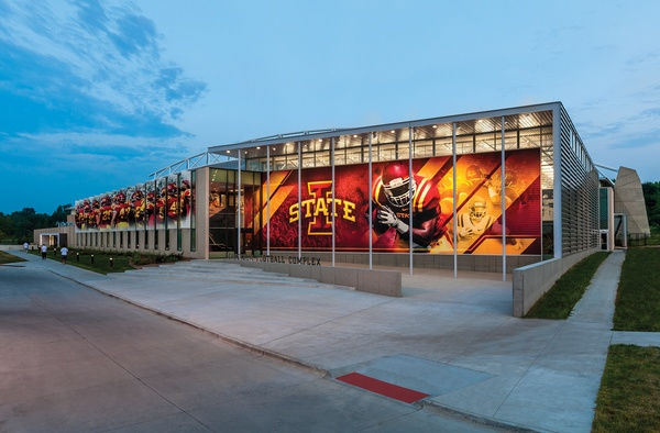 Iowa State University Campus Entrance
