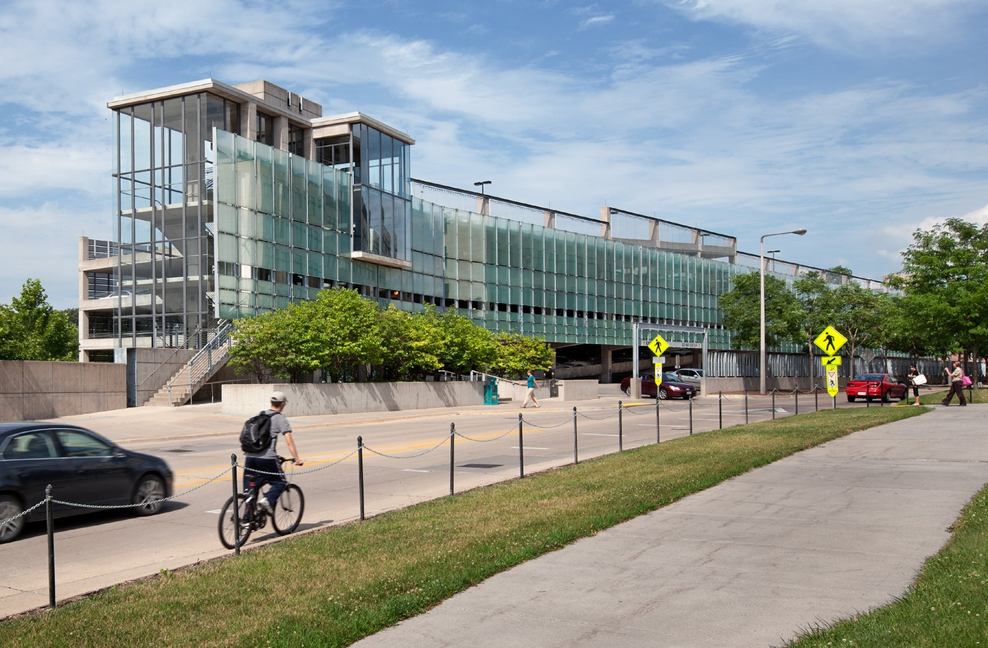 University Of Iowa Newton Road Parking Chilled Water Facility Substance Architecture